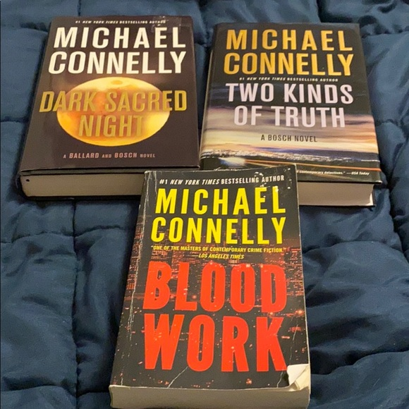 Set of 3- Michael Connelly Books 🔥🔥